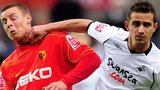 Will Hoskins of Watford is elbowed in the face by Ferrie Bodde of Swansea in November, 2008