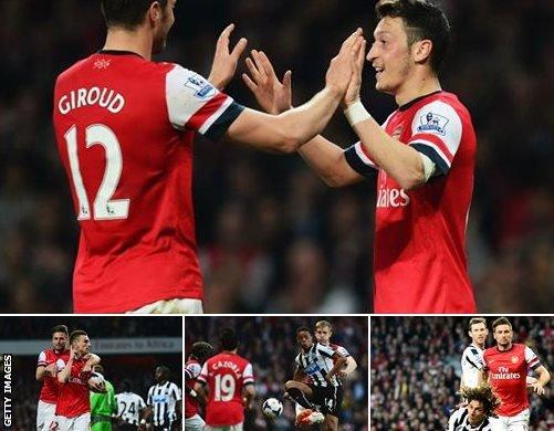 Arsenal v Newcatle