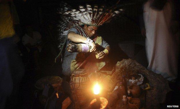 Ritual in Brazil