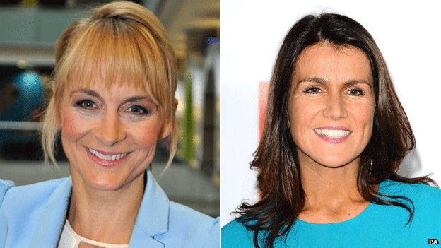 Louise Minchin and Susanna Reid
