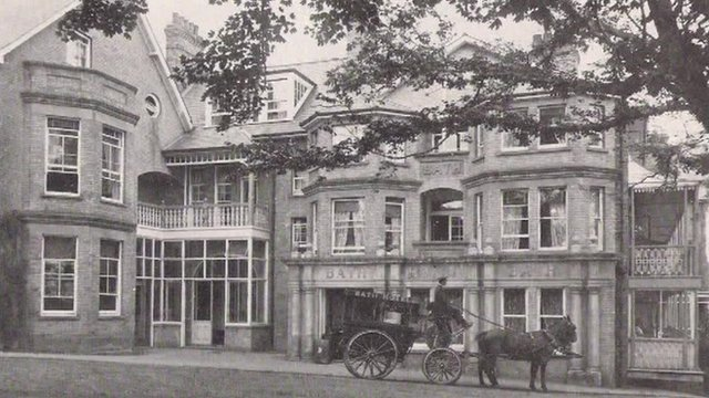 Felixstowe Bath Hotel suffragette arson commemorated