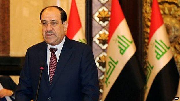 Nouri Maliki (file photo)