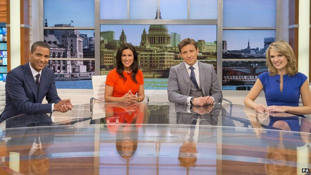Good Morning Britain presenters