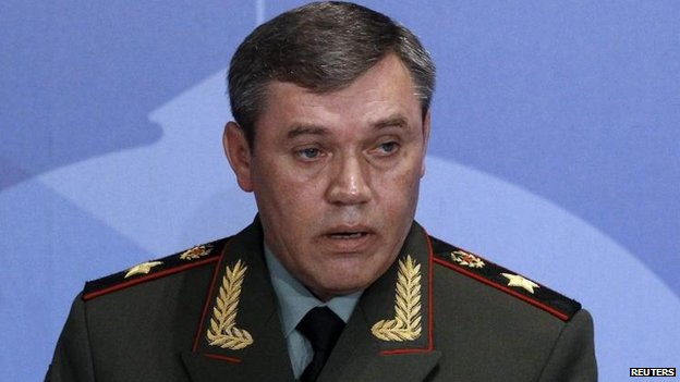 Valery Gerasimov, Russian armed forces chief of staff, file pic