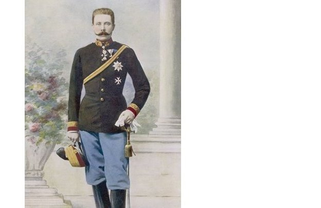 Portrait of Archduke Franz Ferdinand, the heir to the throne of Austria-Hungary