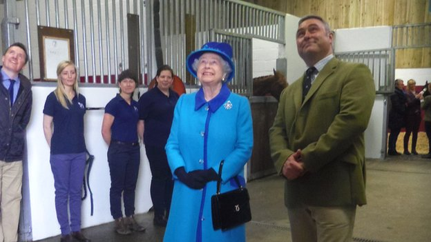 Queen at Cotts Equine Hospital