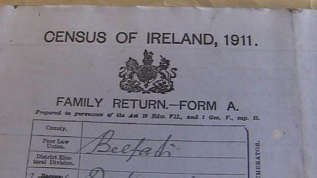 1911 Census of Ireland document