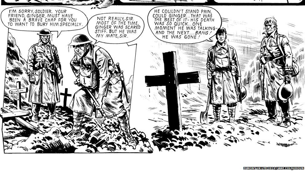 Charley's War comic strip