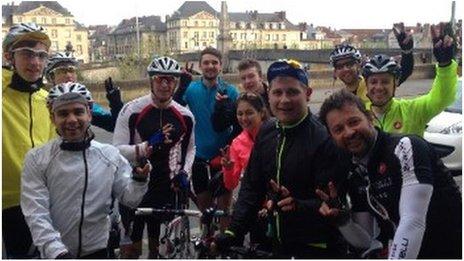 Jambo cyclists