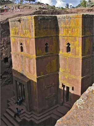 Church of St George, Lalibela, Ethiopia