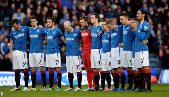 Rangers players