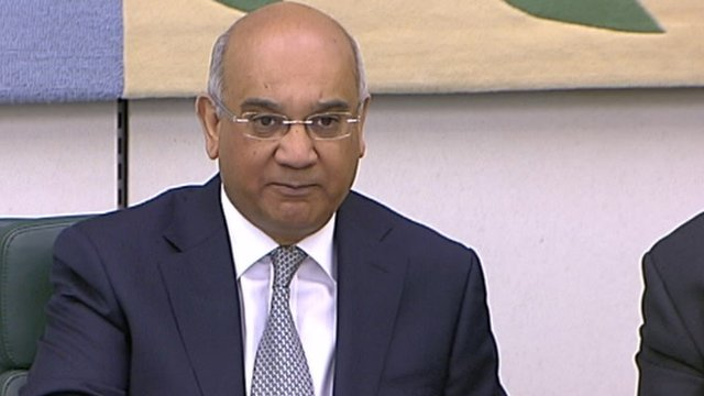 Home Affairs Committee Chair Keith Vaz