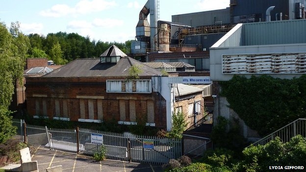 Part of the old Leamington Spa Ford Foundry
