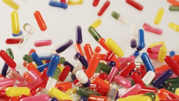 Pfizer drug capsules