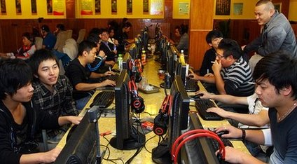 Computer gamers in China