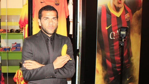 Dani Alves taken on 20 April 2014