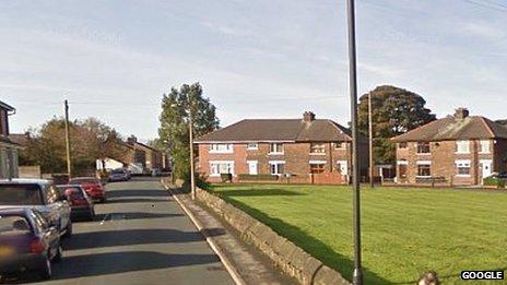 Harrison Road in Adlington