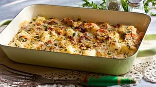 Mary berry's West Country gratin