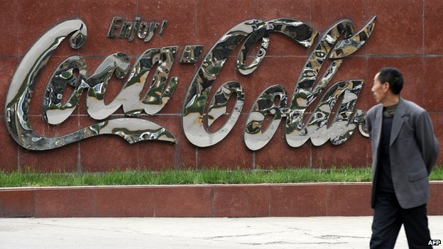 File photo: Coca Cola in China