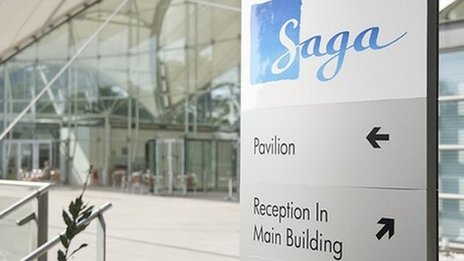 Saga head office in Folkestone