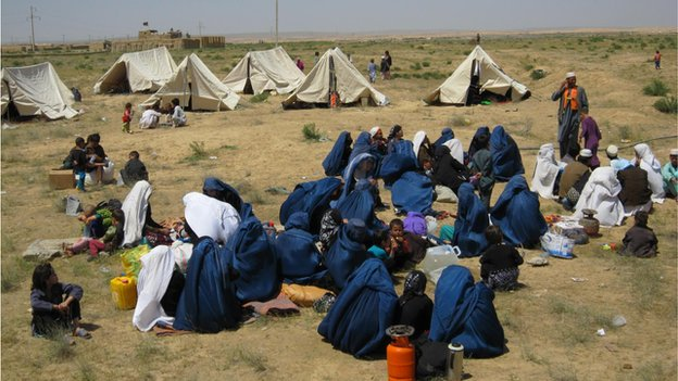 Seventeen schools were destroyed in Jowzjan province alone