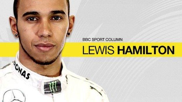 Lewis Hamilton column