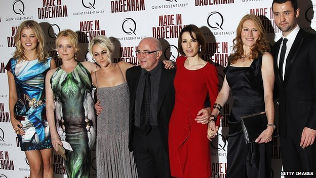 The cast of Made in Dagenham