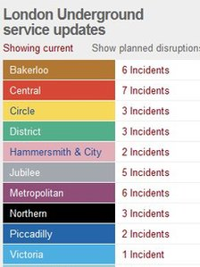 Travel disruption