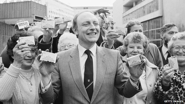 Neil Kinnock in 1984