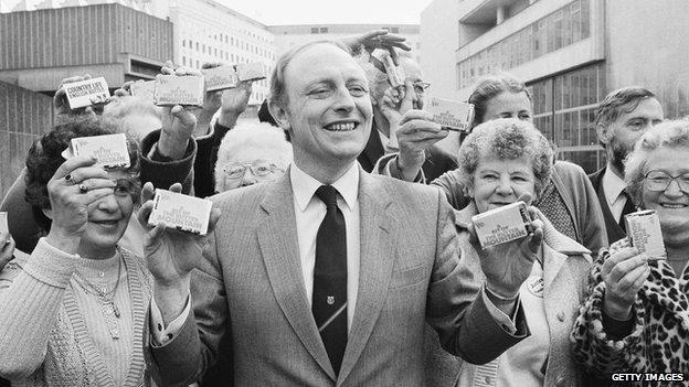 Neil Kinnock in 1984
