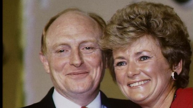 Neil and Glenys Kinnock in 1988