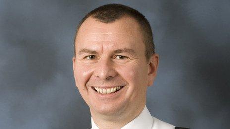 Richard Debicki, North Wales Police Assistant Chief Constable