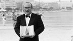 Bob Hoskins at the 1986 Cannes Film Festival