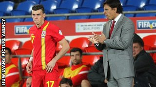 Gareth Bale and Chris Coleman