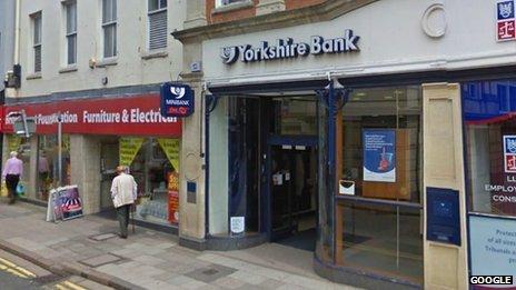 Yorkshire Bank, Grantham