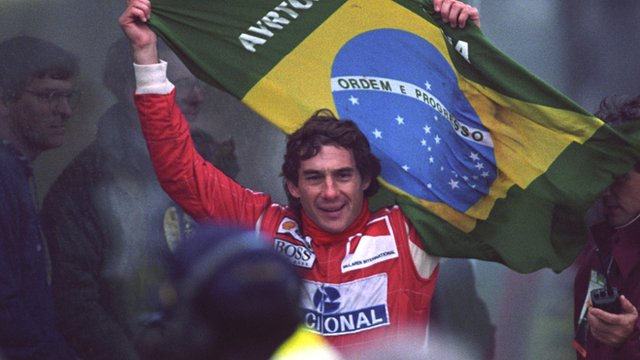 Ayrton Senna's five greatest races