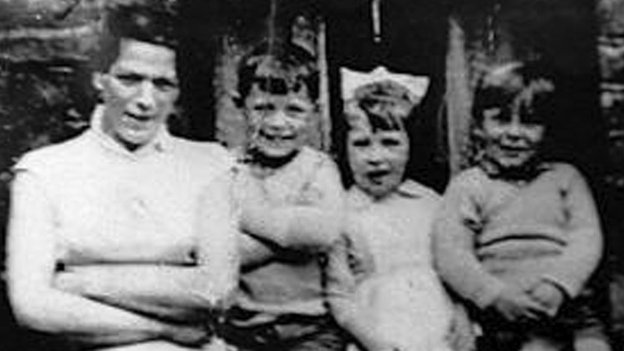 Jean McConville and children