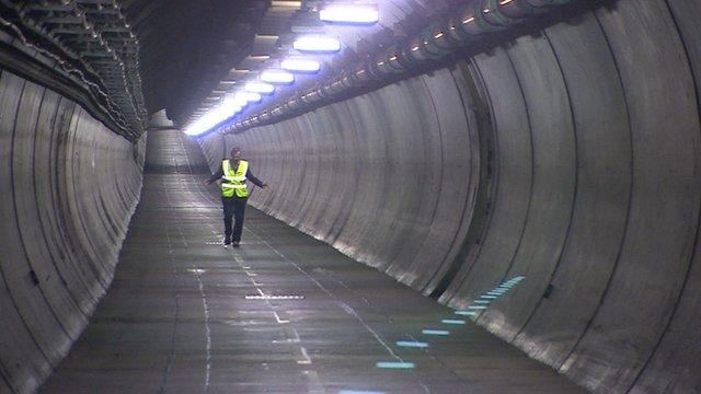 Inside the Eurotunnel