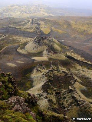 Laki volcano