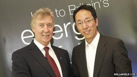 Tony Price and Naohiro Masuda