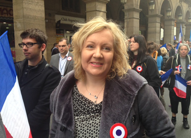Sophie Montel, FN candidate in European election