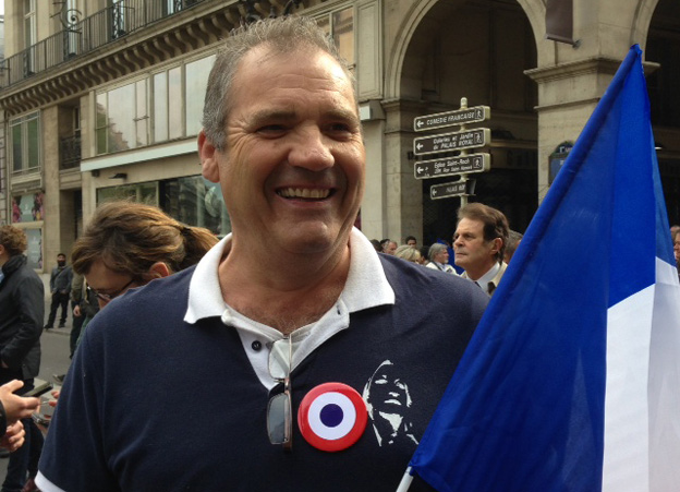 Thierry, FN supporter