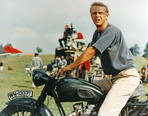 Steve McQueen in the Great Escape