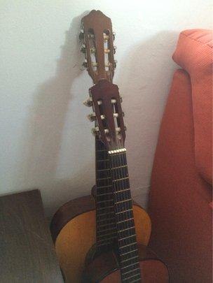Two Spanish guitars