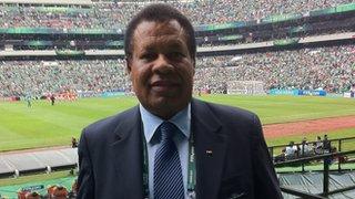 Namibia FA president John Muinjo
