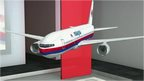 Graphic of missing Malaysia Airlines plan