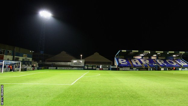 Barrow's Holker Street ground