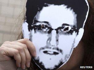 Snowden mask