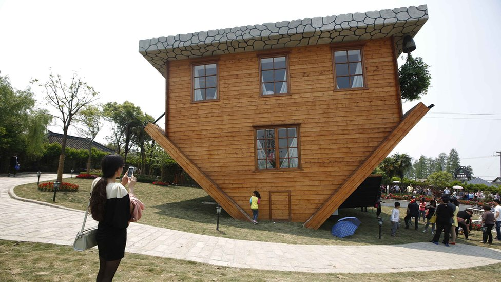 Upside Down Houses Exist And They Boggle The Mind