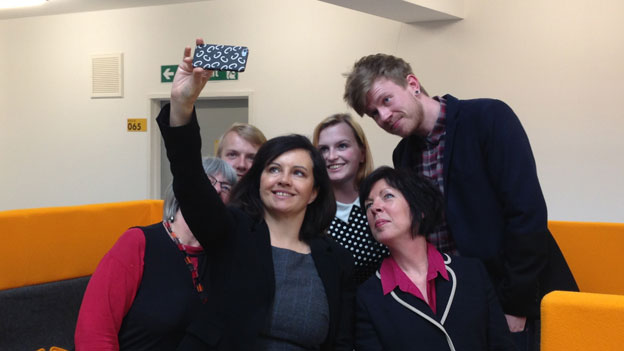 Caroline Flint, Theresa Griffin and young people
